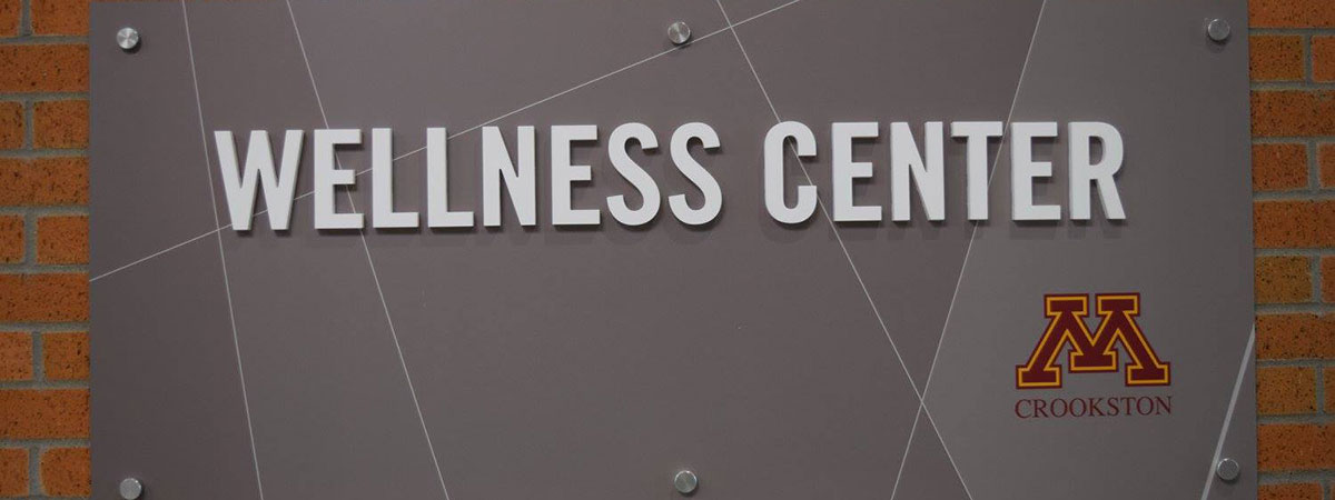 Wellness Center Sign